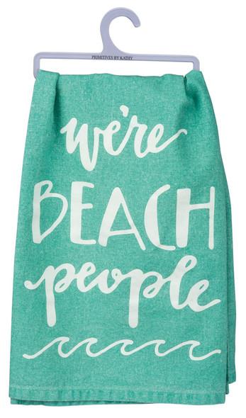 We're Beach People