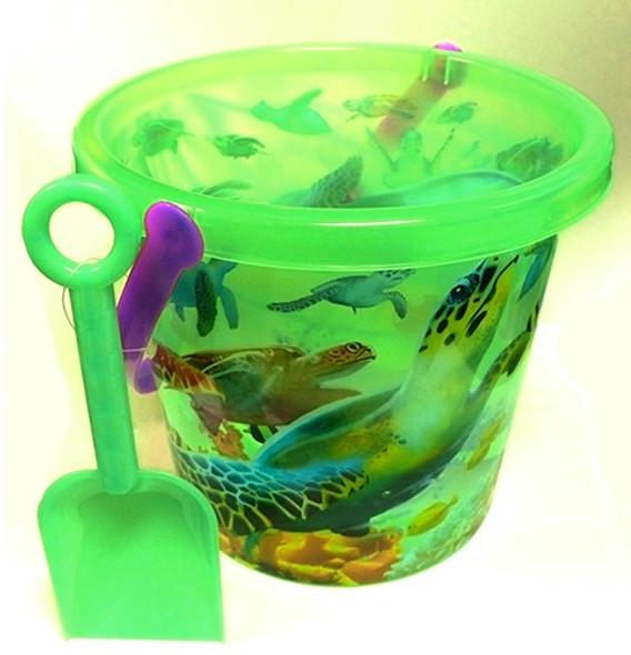 See-thru Turtle Beach Bucket