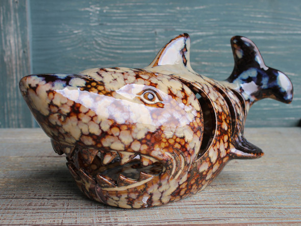 Shark Tealight Candle Holder