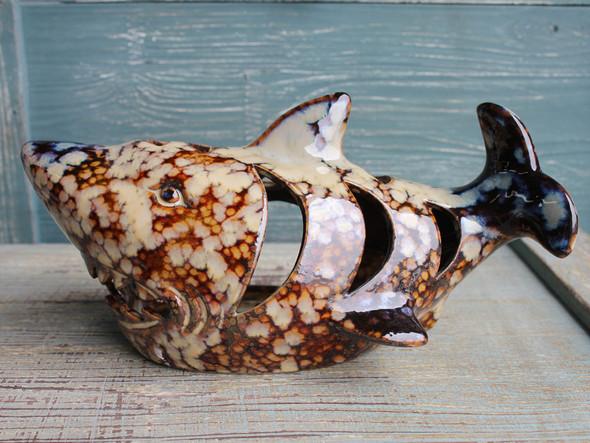 Shark Tealight Candle Holder