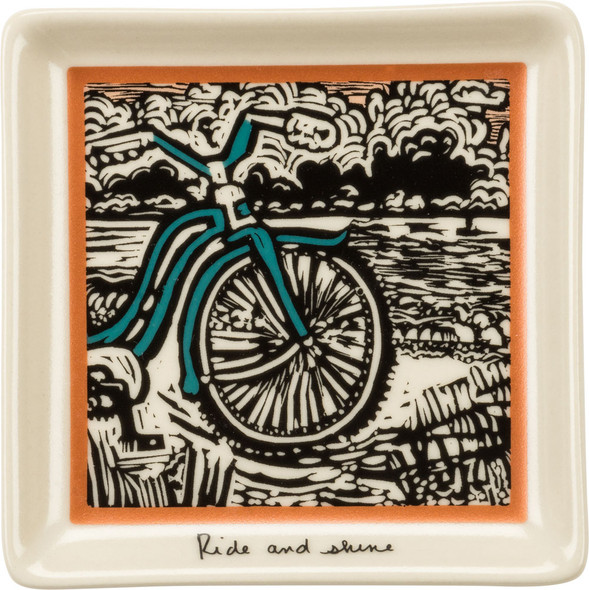 Ride and Shine Bike Trinket Tray
