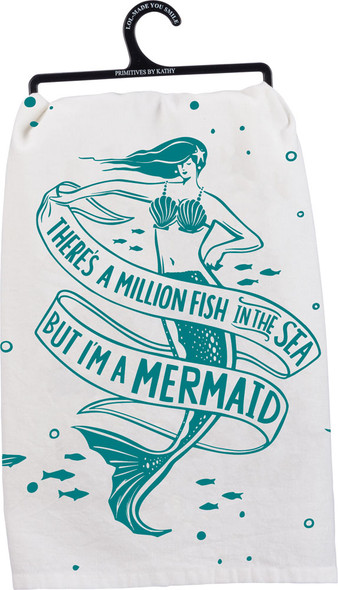 There's a million fish in the sea, but I'm a mermaid.