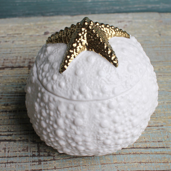 Ceramic Starfish Box