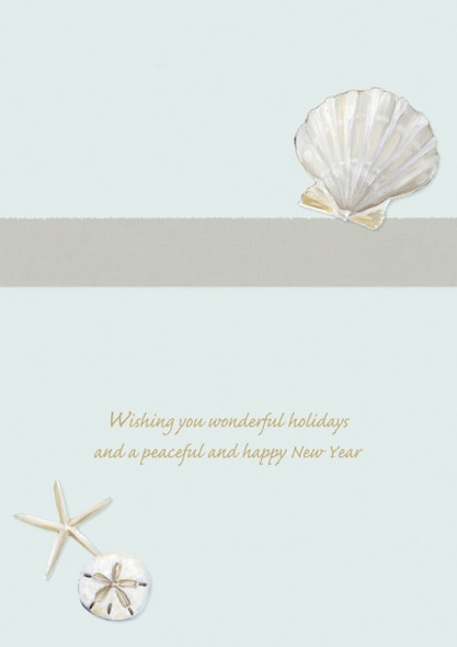 Wishing you wonderful holidays and a peaceful and happy New Year.