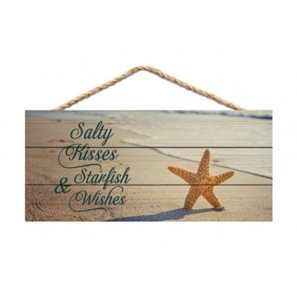 Salty Kisses Rope Sign