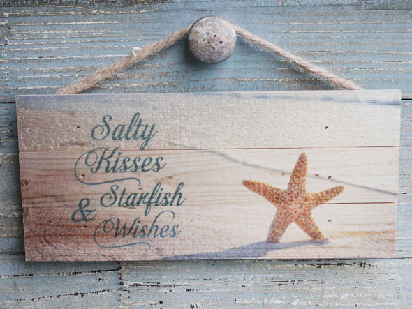 Salty Kisses & Starfish Wishes