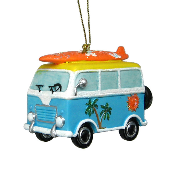 Beach Van Ornament