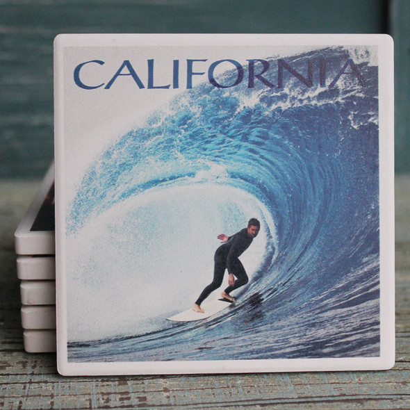 The Perfect Wave California Coaster