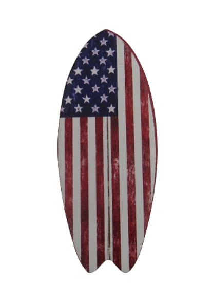 American Flag Surfboard  Magnet