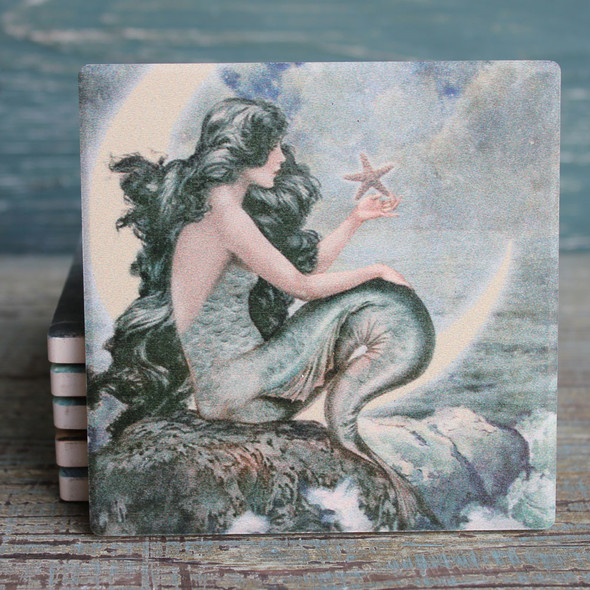 Moon Mermaid Coasters