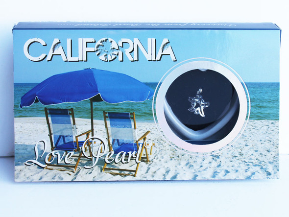 California Star Love Pearl Necklace
