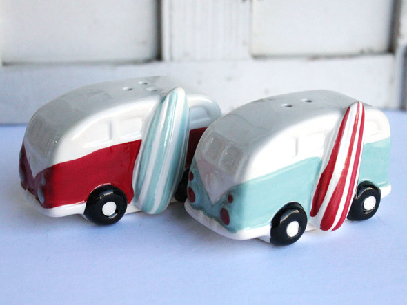 Surf Van Salt & Pepper Shakers