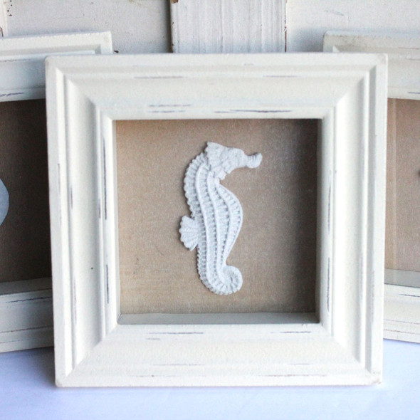 Seahorse Shadow box