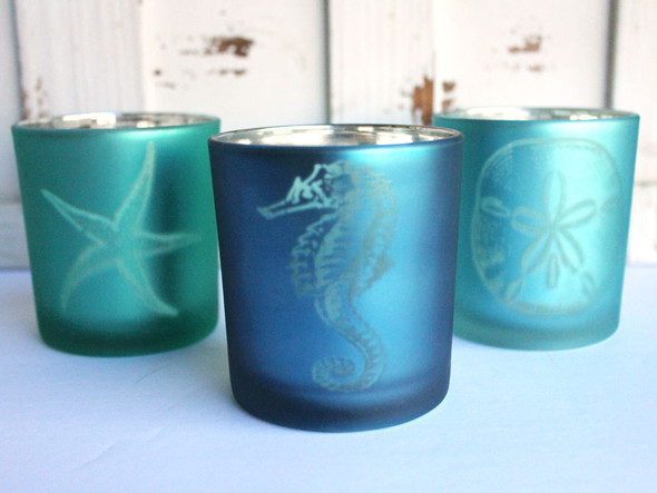 Sea Life Votive Candle Holders