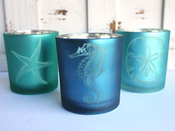 Sea Life Votive Candle Holders