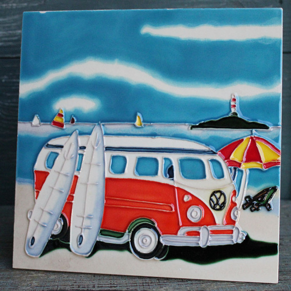 Beach Van Tile