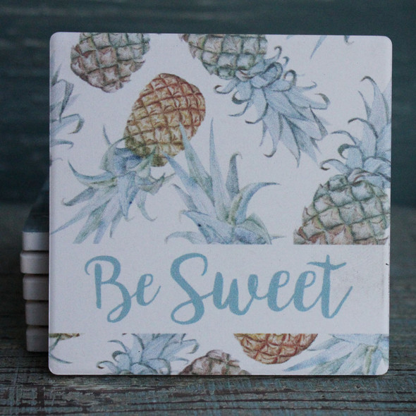 Be Sweet - Pineapple Coaster