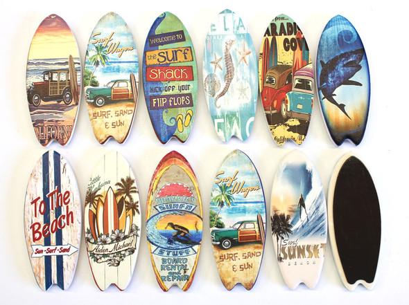 West Coast Tile Surfboard Magnets