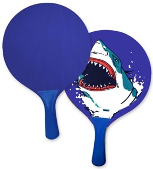 Shark Paddle Ball Set