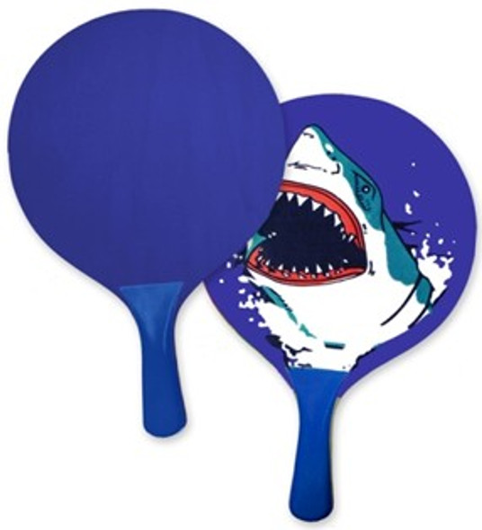 Shark Paddle Ball Set