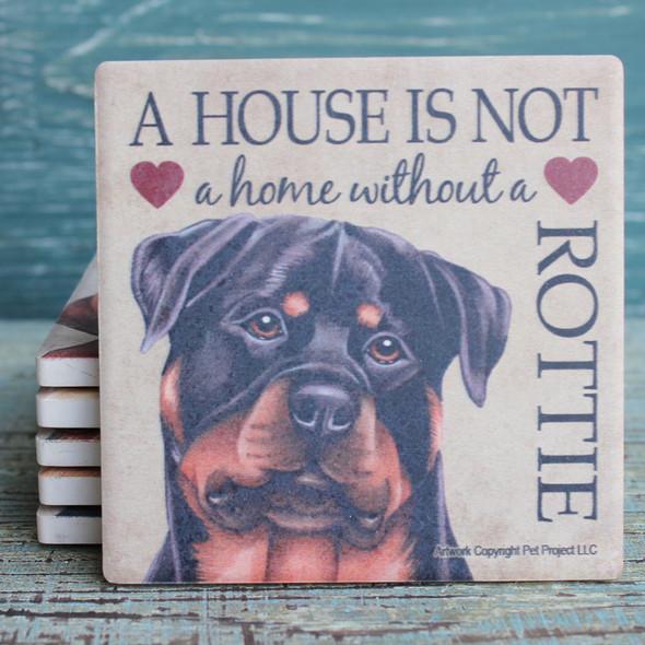 Rottweiler Dog Coaster