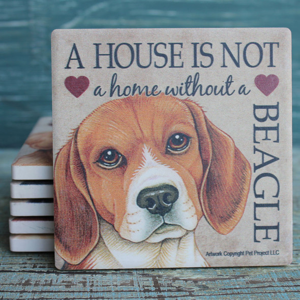 Beagle Dog Coaster