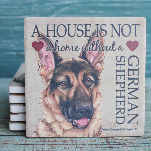 German Shepherd Dog Coaster