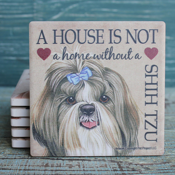Shih Tzu Dog Coaster