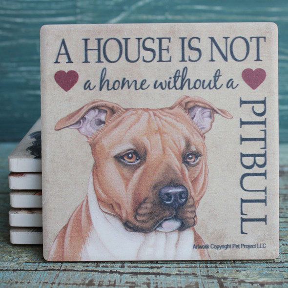 Pitbull Dog Coaster