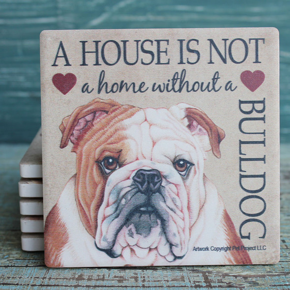 Bulldog Dog Coaster