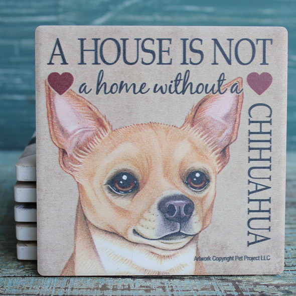Chihuahua Dog Coaster