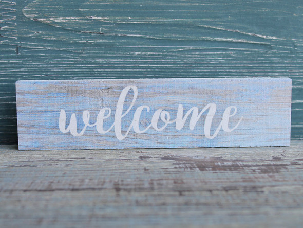 Welcome Candy Bar Sign