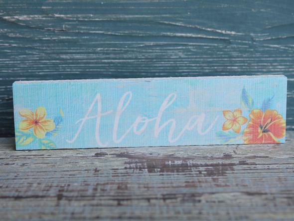 Aloha Candy Bar Sign