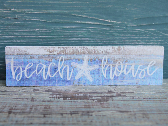 Beach House Candy Bar Sign