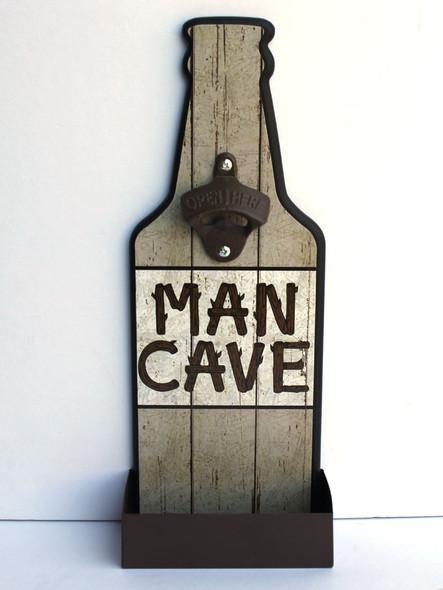 Man Cave Bottle Opener