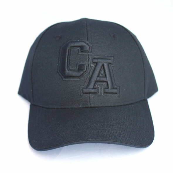 CA Black on Black Hat