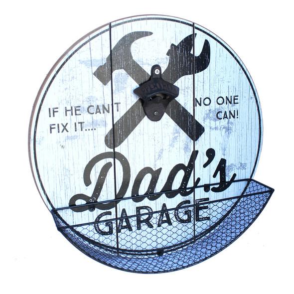 Dad's Garage Cap Catcher
