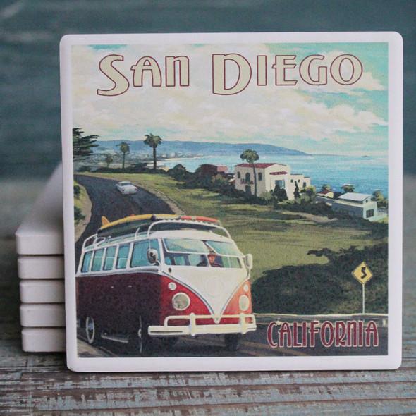 San Diego VW Van Cruise Coaster