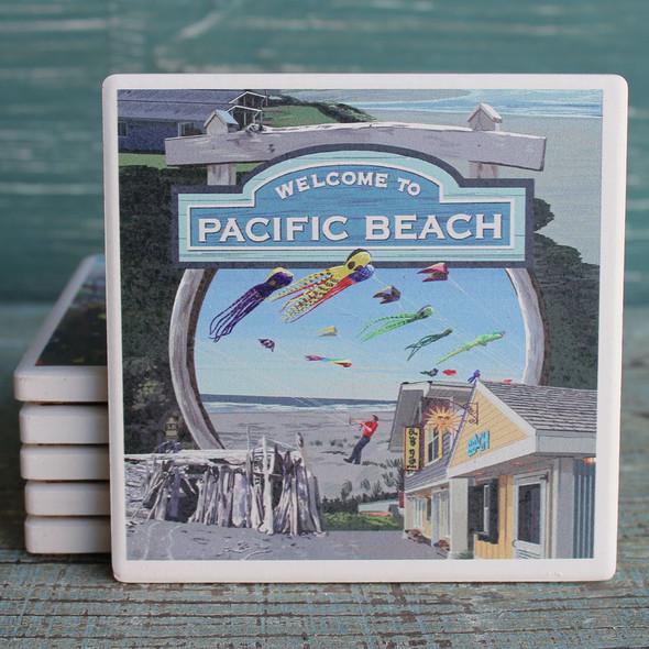 Pacific Beach Montage Coaster