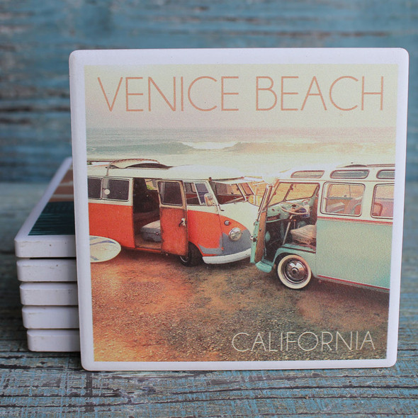 Venice Beach VW Vans Coaster