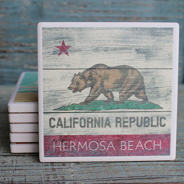 Hermosa Beach California Republic Coaster