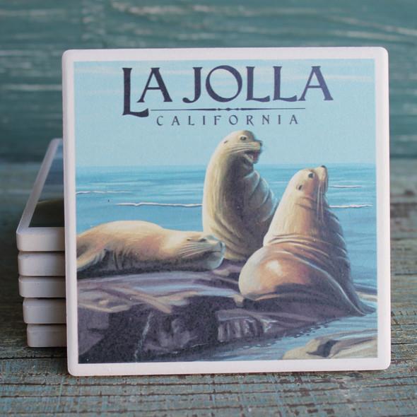 La Jolla Sea Lions Coaster