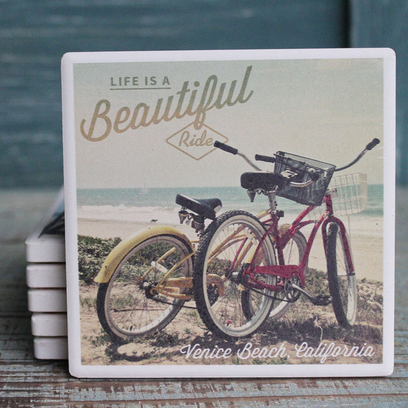 Venice Beach Cruisers Coaster