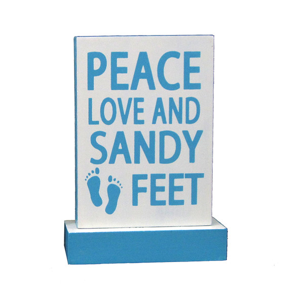 Peace Love and Sandy Feet