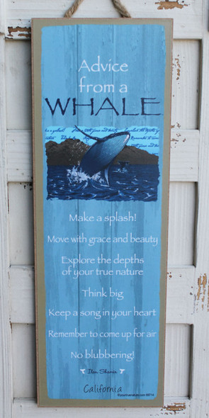 Advice from a Whale - California