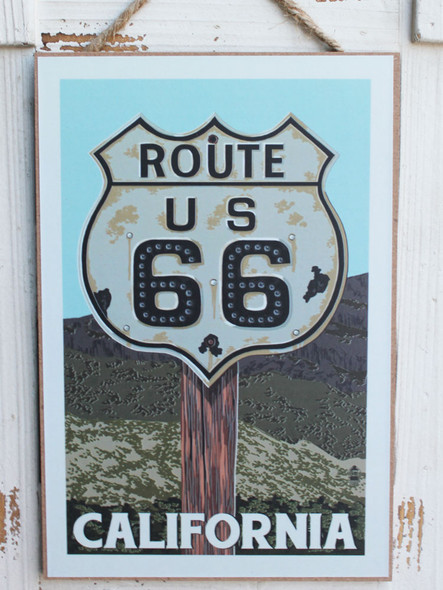 Route 66 - California Sign