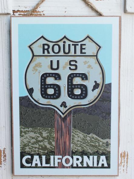 Route 66 - California Sign