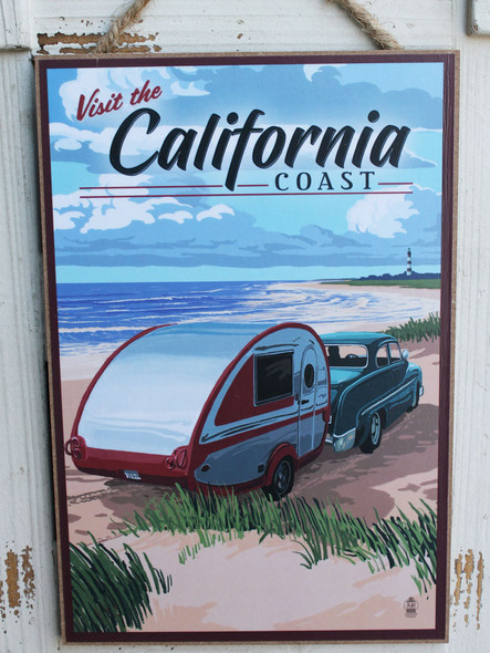 Visit California - Retro Camper