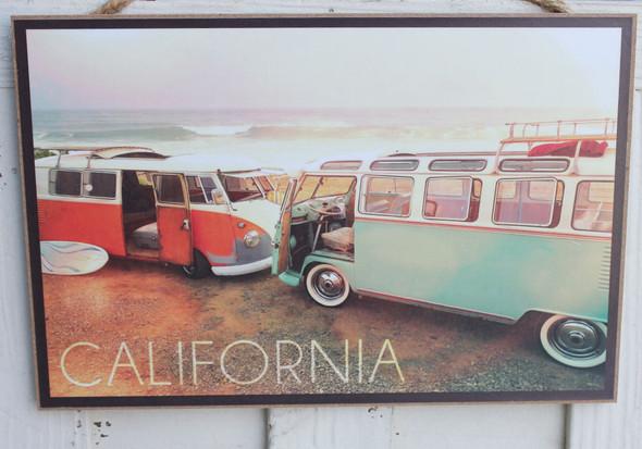 VW Vans on Beach