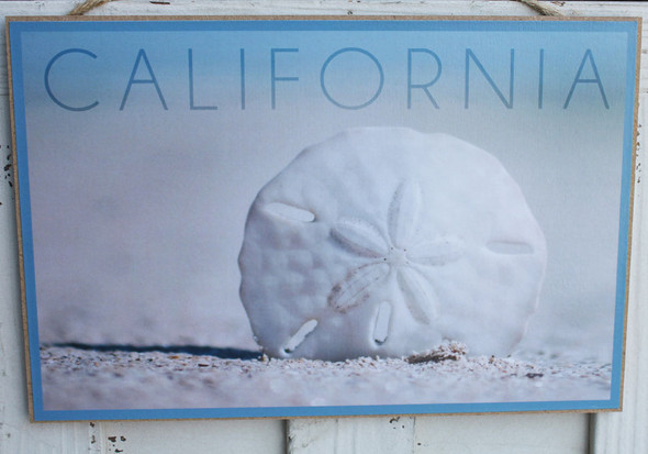 Sand Dollar California Sign